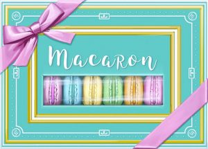 The box cover for Macaron.