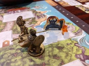 Ares is in trouble in this game of Wonder Woman Challenge of the Amazons