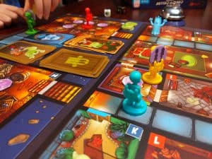 Playing The Creepy Cellar expansion for Ghost Fightin' Treasure Hunters