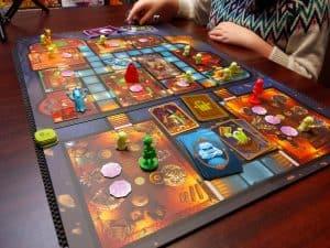 Three player Ghost Fightin' Treasure Hunters with The Creepy Cellar,