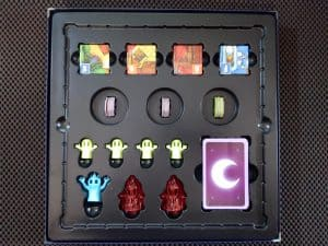 A look inside the box of The Creepy Cellar Expansion for Ghost Fightin' Treasure Hunters