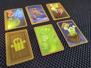 Cellar Cards from The Creepy Cellar,