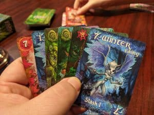 Fairy Season is a great light filler card game.