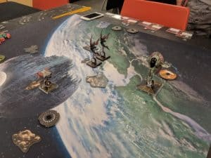 X-wing is a very popular miniature game.