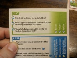 Trivia games can be educational.
