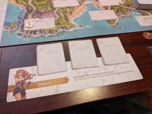 Wonder Woman Challenge of the Amazons uses a card driven, programmed movement system.