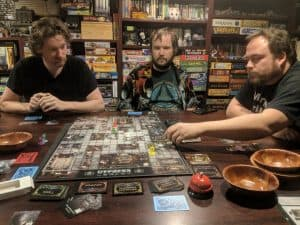 Even a bad game can be fun with a good game group.
