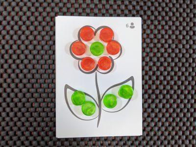 The clue counter flower in Letter Jam