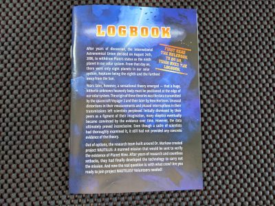 The Logbook contains fifty missions for the card game The Crew