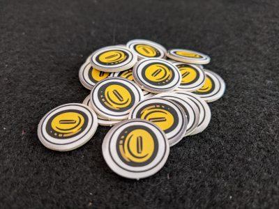 Gold coins from D&D Adventure Begins