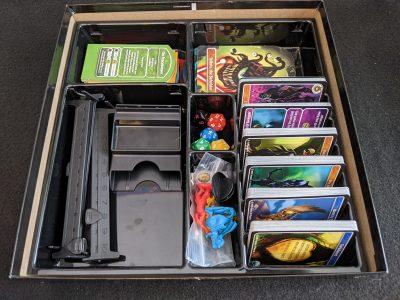 The serviceable box insert from D&D Adventure Begins
