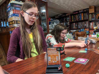 My kids love D&D Adventure Begins a great cooperative D&D board game.