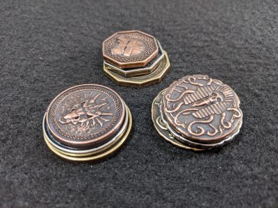 The three Forged coin sets from Legendary Metal Coins Season Six