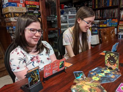 Is there anything better than smiling kids playing a board game (D&D Adventure Begins)