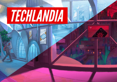 The cover of the board game Techlandia