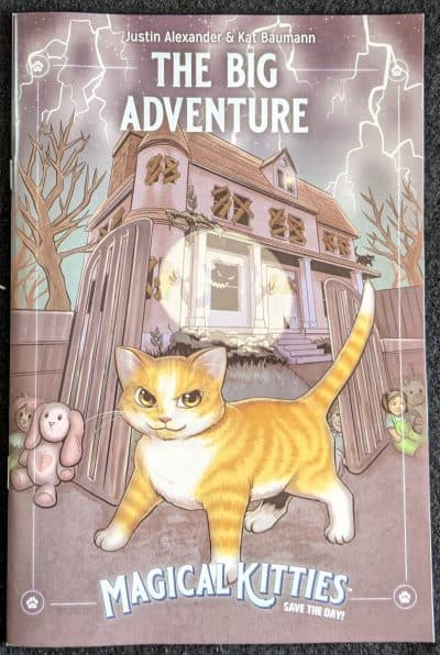 The Big Adventure solo adventure comic book for Magical Kitties Save The Day