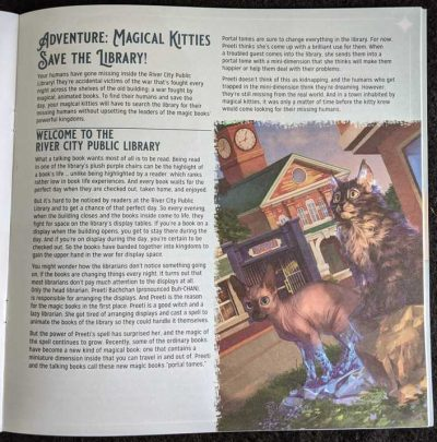 We had a blast playing Magical Kitties Save the Library