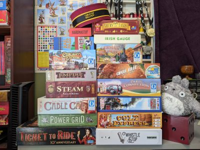 More train board games to play if you love Ticket to Ride.