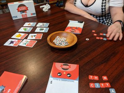 A Little Wordy from Exploding Kittens for Date Night.