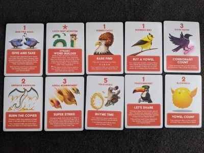 Spicy clue cards from A Little Wordy from Exploding Kittens