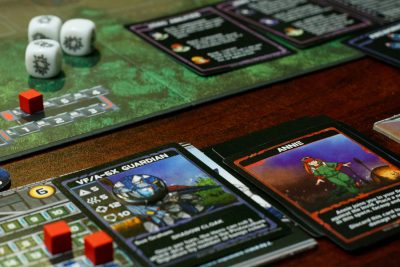 Mecha and ally cards from Robotech: Invid Invasion