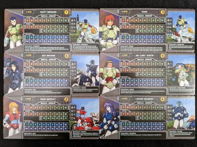 The Robotech Defenders from Robotech: Invid Invasion