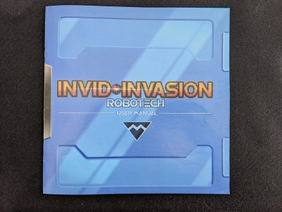 The worst part of Robotech: Invid Invasion is this Rulebook