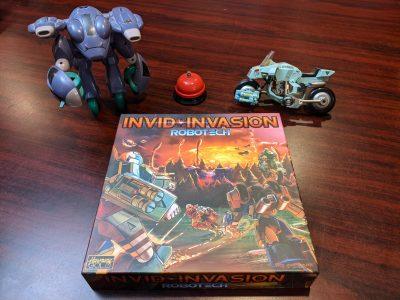 The Robotech: Invid Invasion box.