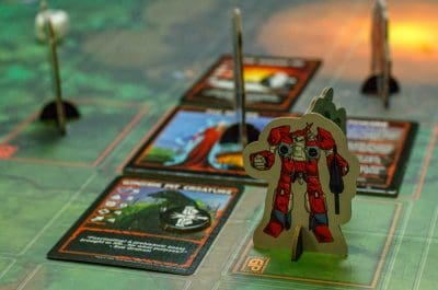 While not totally necessary the standees in Robotech: Invid Invasion are quite cool.