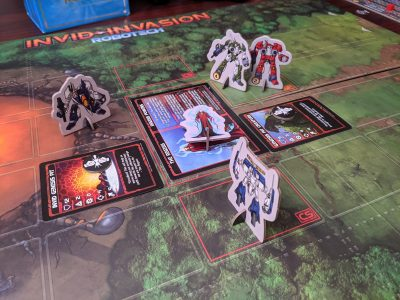 The Regess goes down in this game of Robotech: Invid Invasion