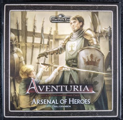 Aventuria: Arsenal of Heroes duell expansion