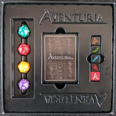 What you get with Adventuria: Arsenal of Heroes expansion