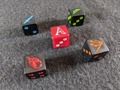 Custom weapon dice for Aventuria in Aventuria: Arsenal of Heroes