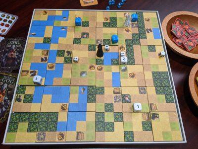 The board in Battle of GOG reminds me of Civilization II
