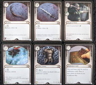 The Elf Scout deck in Aventuria: Master Tailor's Poltergeists expansion.