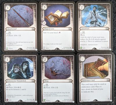 The Tulamydian Mage deck from The Master Tailor's Poltergeists Aventuria Demo Kit