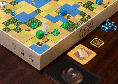 playing Battle of GOG a biblically themed board game
