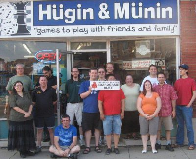 Hosting a board game tournament with over a dozen participants.