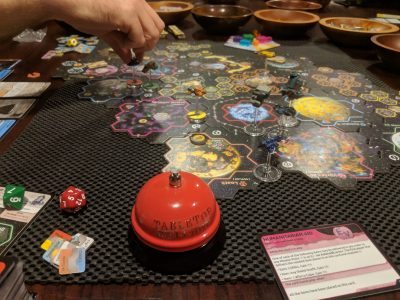 Xia Legends of a Drift System is an excellent roll and move board game.