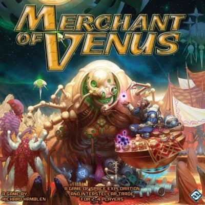 Merchant of Venus, a roll and move game that doesn't suck.