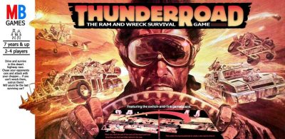 Thunderroad, a classic roll and move game from Milton Bradley.