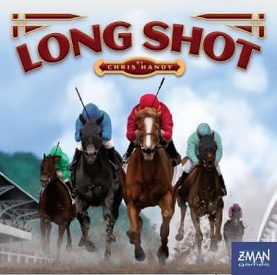 Long Shot, horse racing board game.