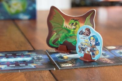 Taking on the dragon in a game of Trapwords