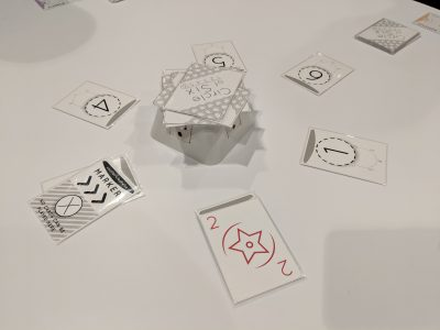 The prototype copy of Circle of Six