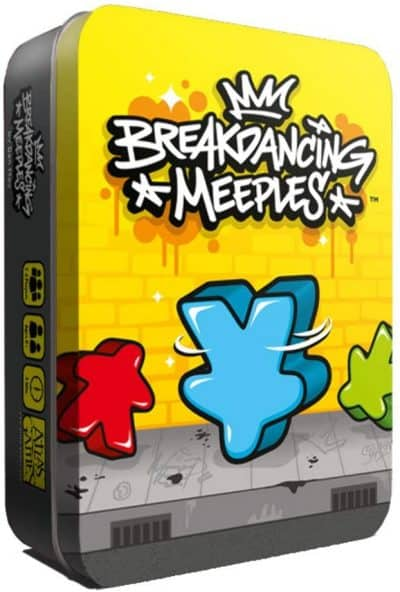 Breakdancing Meeples is one of the best ultra light board games.