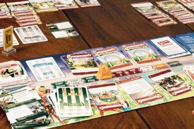 Unfair is a game about building a theme park