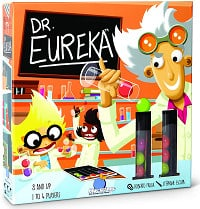 Dr Eureka, kids game that is fun for adults.