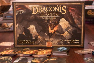 Draconis Invasion comes in an odd sized box.