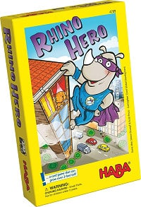 Rhino Hero is a great ultralight game for both kids and adults.