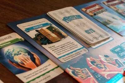 The city deck in Unfair with a Game Changer card.